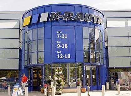 Опрос в гипермаркетах финской сети